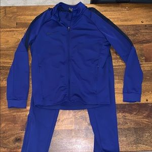 Nike boys track suit M pants jackets